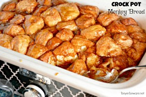 Crock Pot Monkey Bread