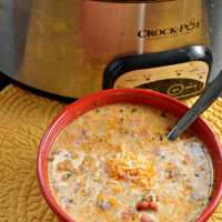 Crock Pot Low-Carb Taco Soup - Keto Taco Soup
