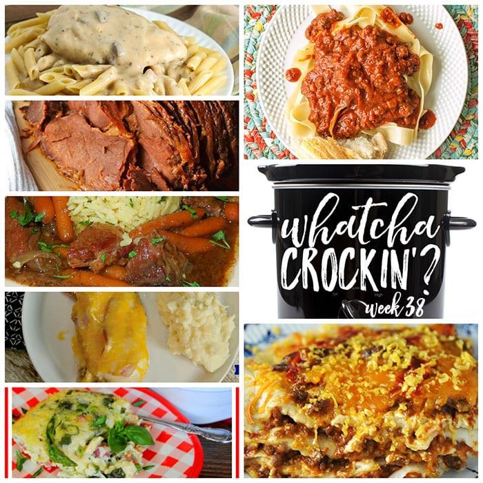 Crock Pot Spaghetti Sauce – Whatcha Crockin' – Week 38