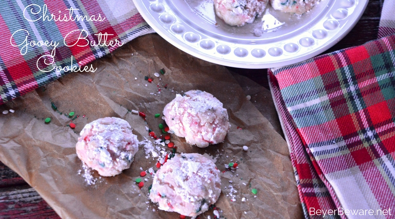 These Christmas cake mix gooey butter cookies are quickly becoming our favorite Christmas cake mix cookies recipe. They are light and delicate yet sweet and satisfying.