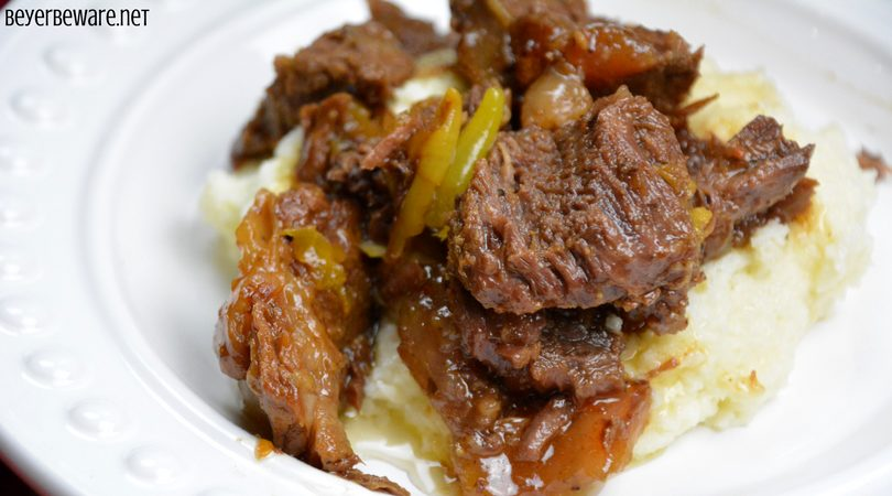 This Instant Pot butter beef recipe is full of flavor, tender to eat and perfect as a sandwich or over mashed potatoes. For those of you trying to eat keto or low-carb, this is also a perfect recipe for your diet plan. #Keto #InstantPot #Butter