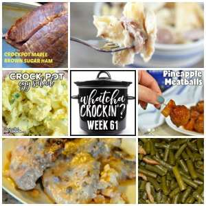 Crock Pot Maple Brown Sugar Ham – Whatcha Crockin' – Week 61