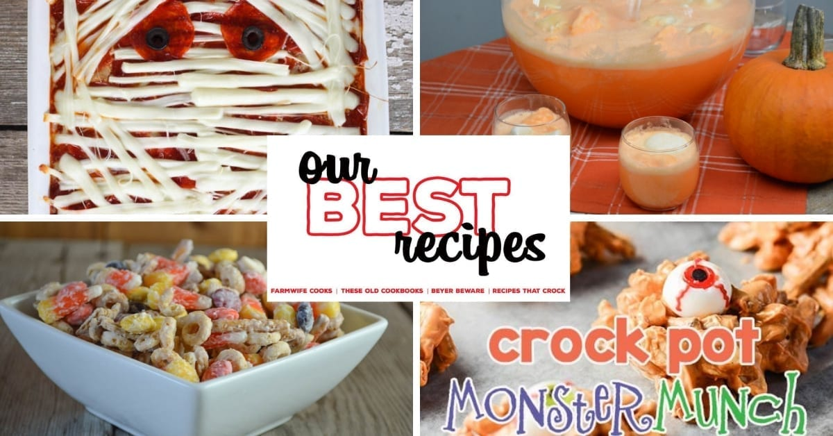 Our Best Halloween Recipes – 17 Recipes for Halloween Night