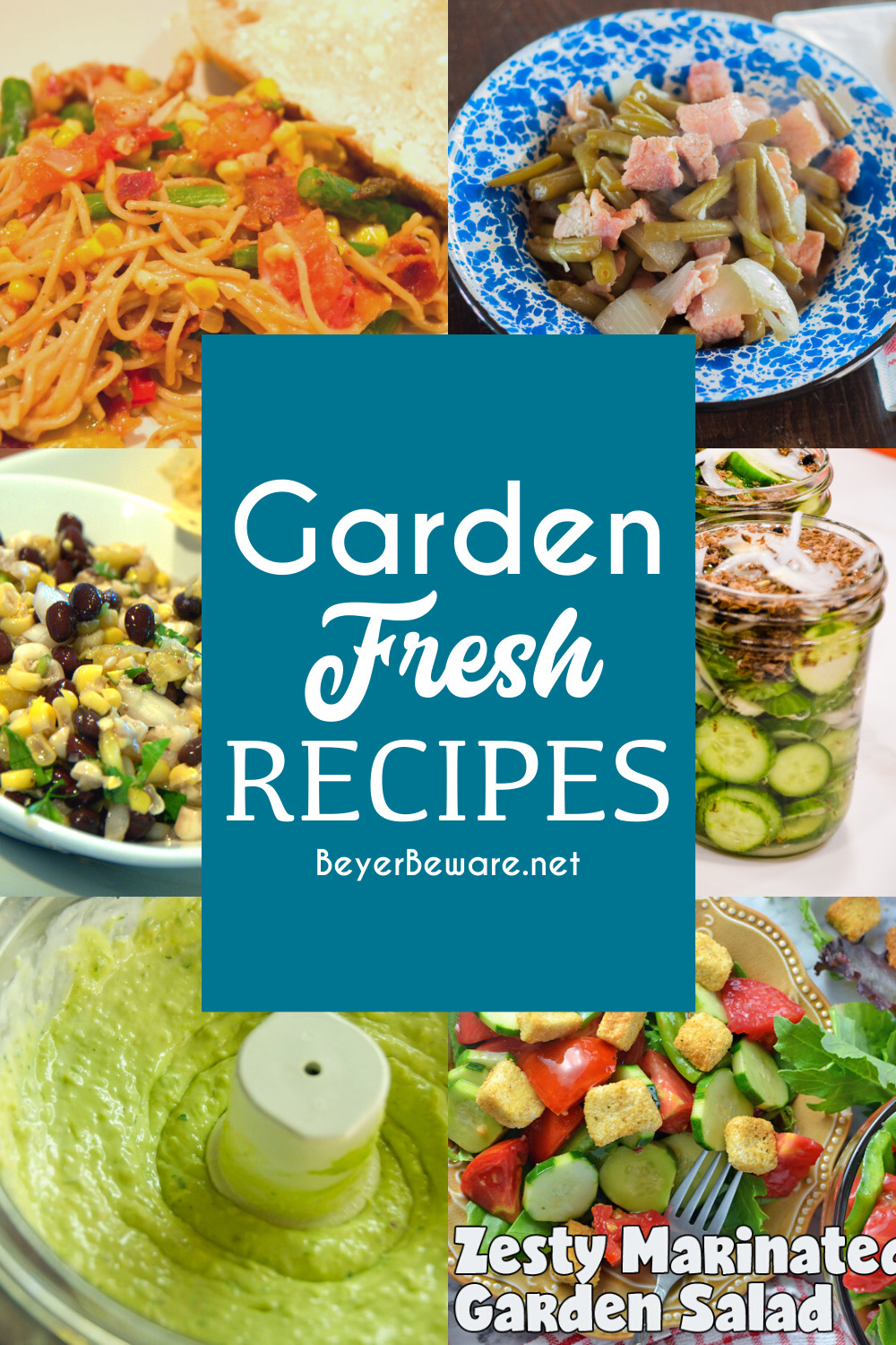 Garden Fresh Recipes