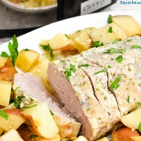 Crock Pot Pork Loin Roast and Potatoes - Ranch Pork Loin