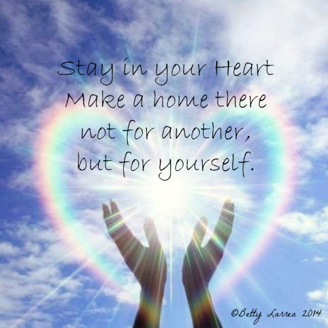 Stay in Your Heart Poem