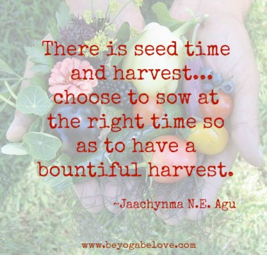 sow harvest quote