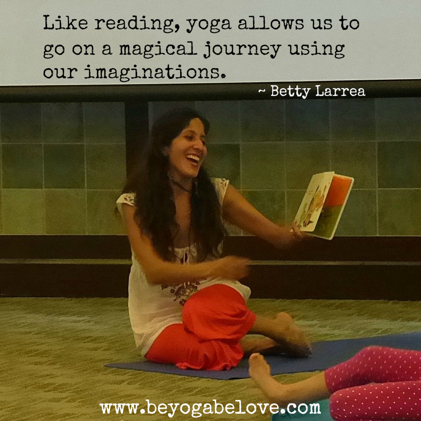 Betty Reading Yoga Quote Meme