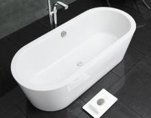Waters Linear - Marsh Freestanding Bath (1800mm)