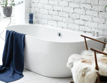Waters Natura - Loche Back-to-Wall Bath
