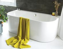 Waters Natura - Strait Back-to-Wall Bath