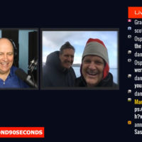Bald Eagle photographers Christian Sasse and Jack Molan appearing live on Beyond 90 Seconds from Dutch Harbor, Alaska.