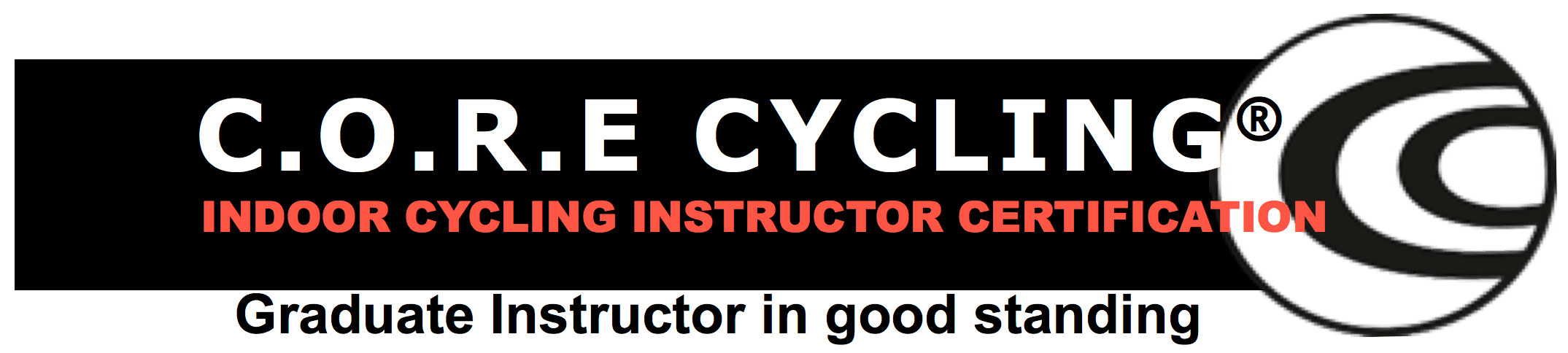 C.O.R.E Indoor Cycling certification