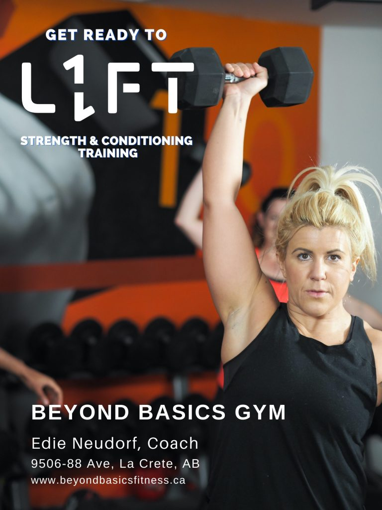 L1FT- Strength & Conditioning Classes