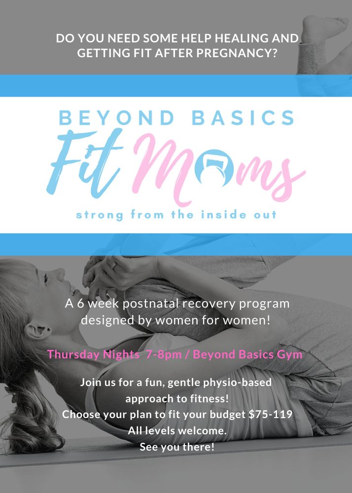 6 Week Postnatal Group Class Poster