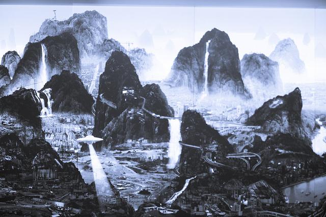 The Night of Perpetual Day – Yang Yongliang (杨泳梁 / 楊泳梁)