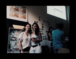 Curators Minna Son (L) and Nana Yu I Lee (R) by Amanda Picotte