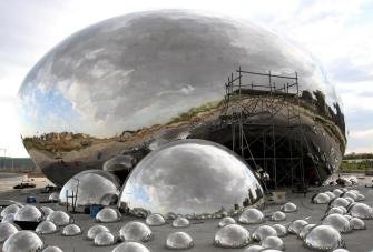 Sculpture in Xinjiang Rips Off Chicago Icon, The Bean