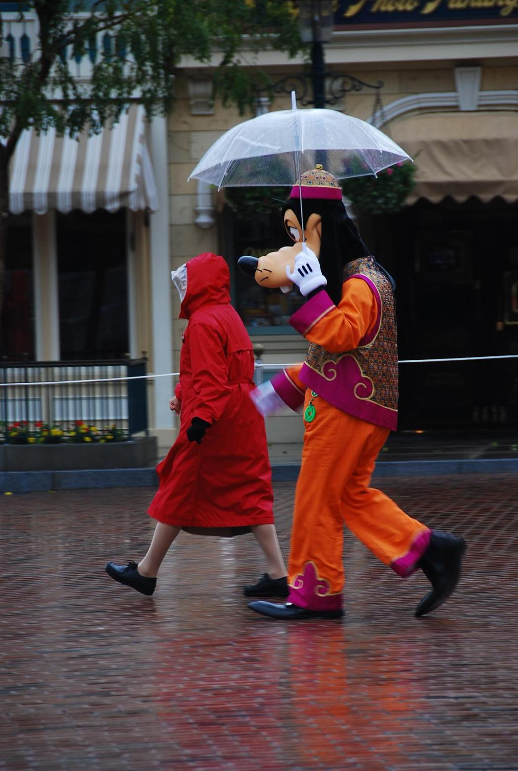 Goofy at Hong Kong Disneyland