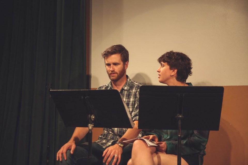 Alex Grubbs and Mariah MacCarthy perform CRUSH.  Photo by Afra Lu