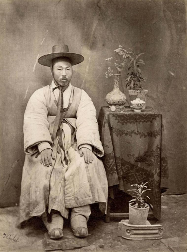 Thomas Child, No. 164 'Corean Gentleman. Peking.'