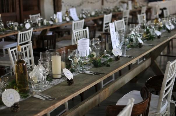 Original table arrangements
