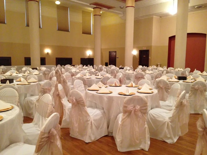chair cover rentals wedding chair cover rentals beyond elegance