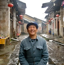 Man with Mao Suit