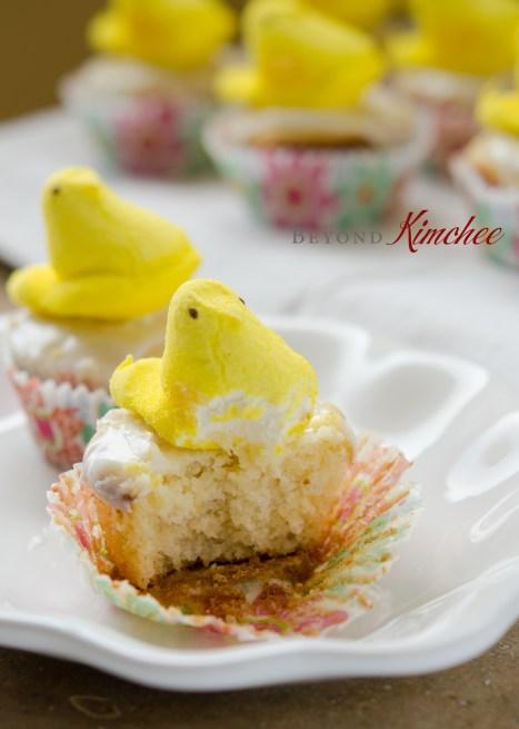 Lemon Yogurt Cupcakes with Lemon Yogurt Icing