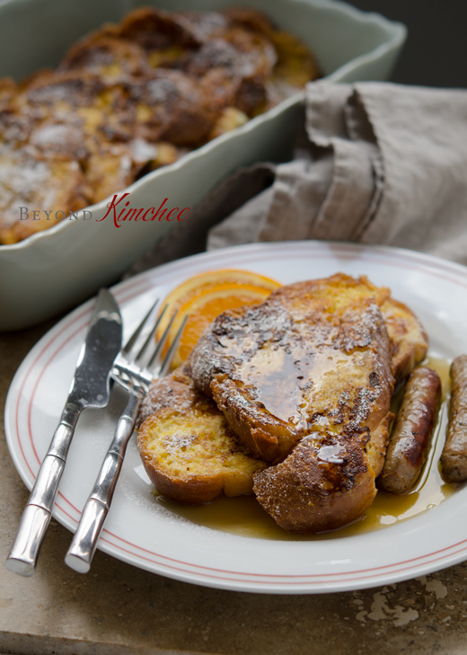 Orange French Toast