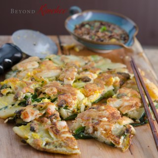 Seafood Green Onion Pancakes
