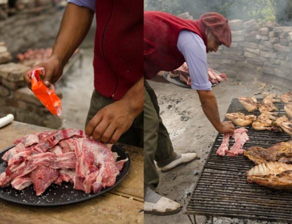 Argentine beef for Asado