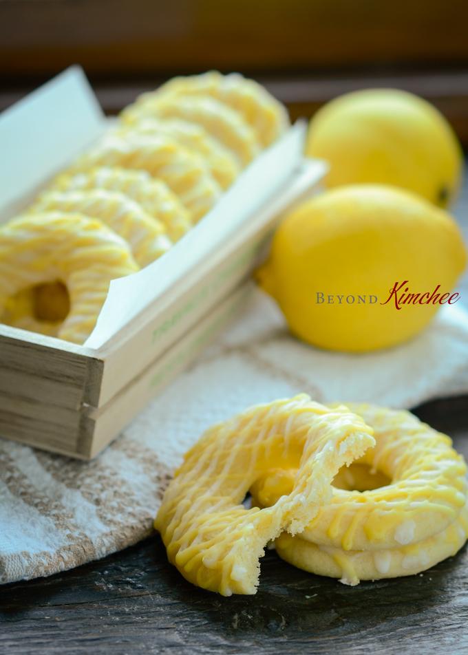 Lemon Ring Cookies