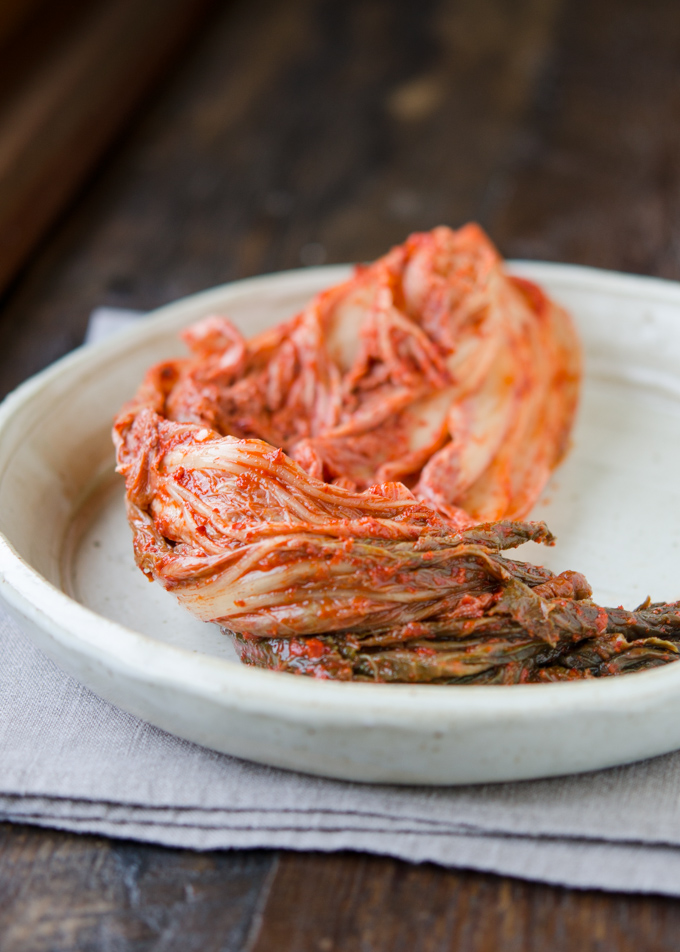 This is 1 year old fermented sour cabbage Kimchi