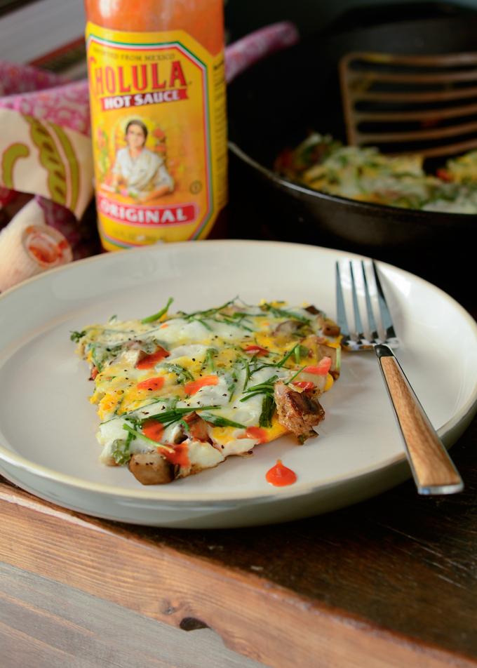 Egg and vegetable Frittata
