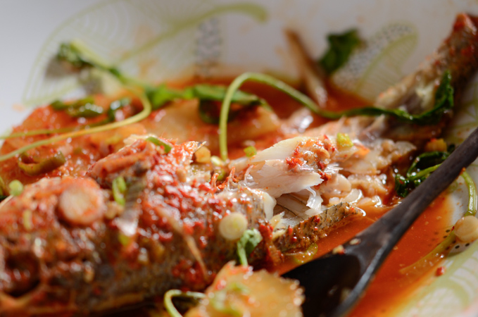 Spicy Yellow Croaker Fish Stew