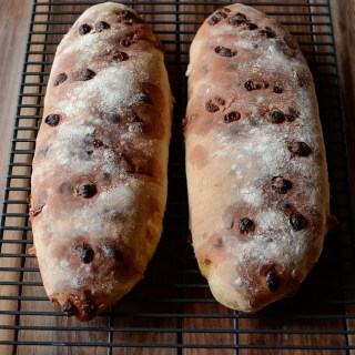 Club Med White Chocolate Bread made with white chocolate chips.