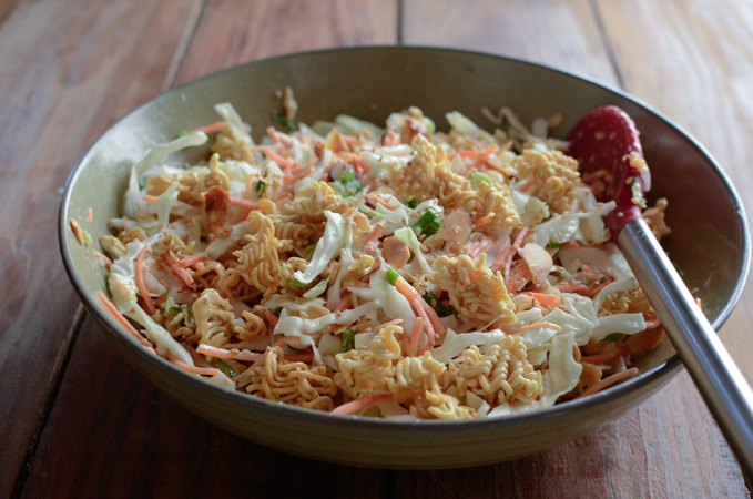 Cabbage Ramen Salad