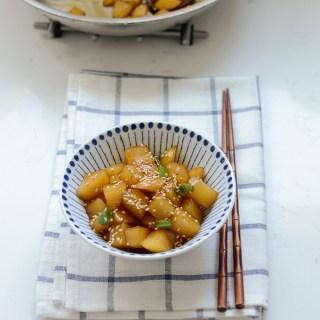 Korean Potato Side Dish (Gamja Jorim)