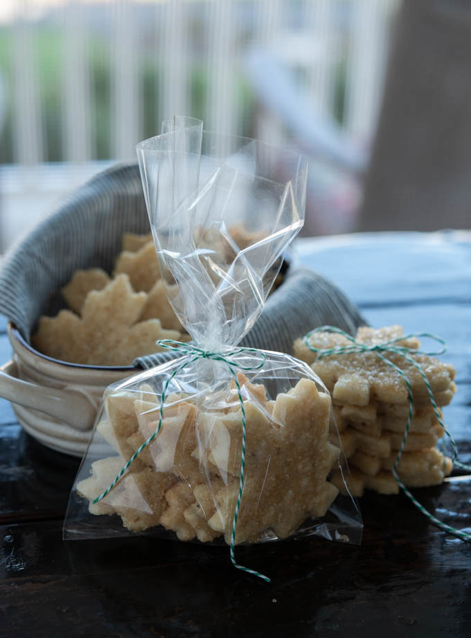Maple Walnut Cutout Cookies