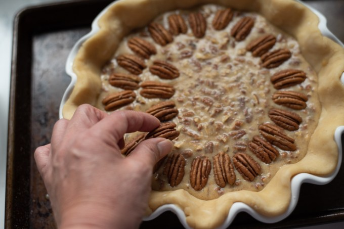 Pecan Pie without Corn Syrup Recipe