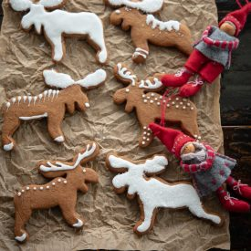 Swedish gingerbread cookies for Holiday