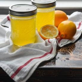 Homemade Meyer Lemonade Syrup