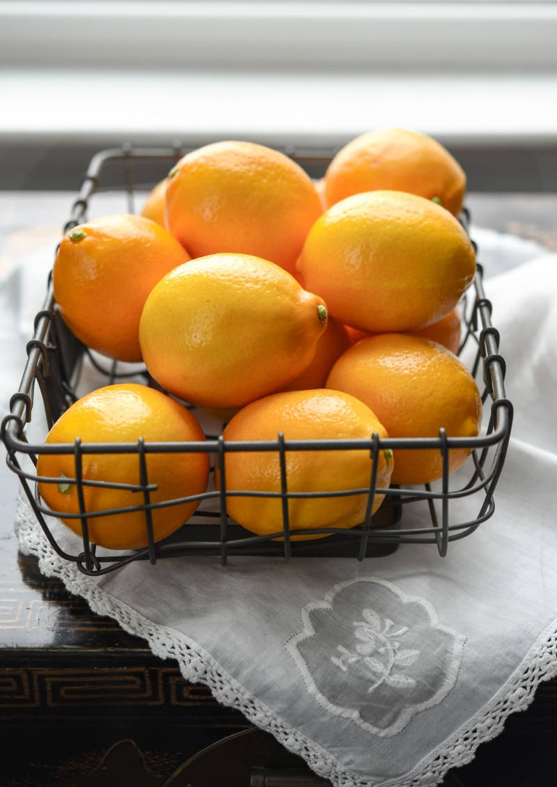 Meyer lemons have a smoother skin and intense flavor that are different than most other lemons