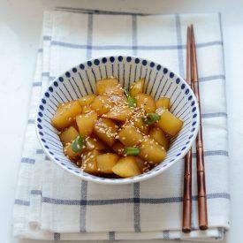 Gamja Jorim, Korean potato side dish