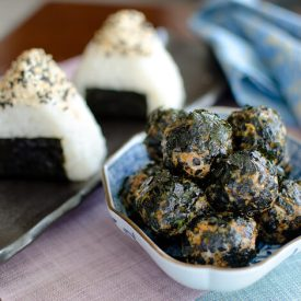 Kimchi Tuna Rice patties and Balls