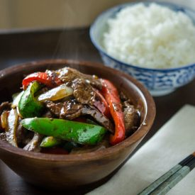 Beef and Peppers Stir-fry thumbnail