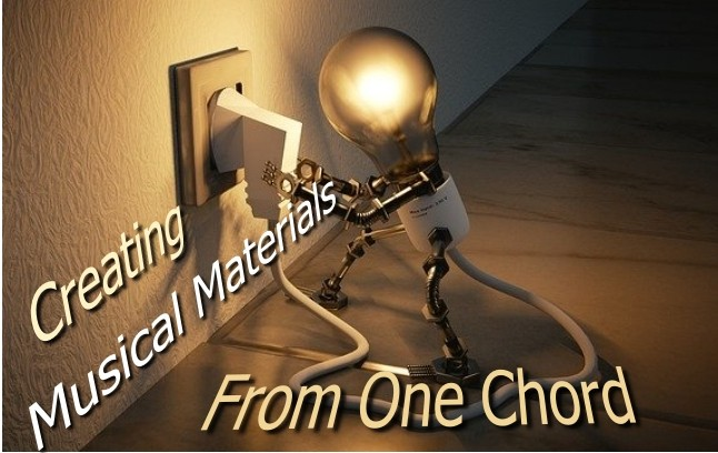 creating musical material from just one chord