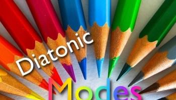 the diatonic modes