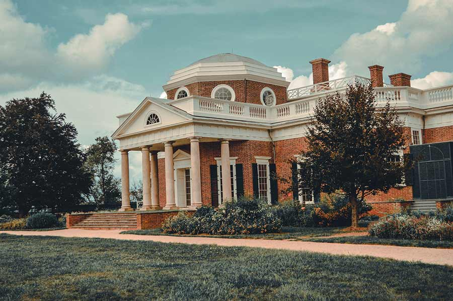 Thomas Jefferson's Monticello richmond va